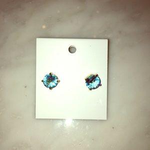 Kate Spade ♠️ Aquamarine 🐳💎🐠 stud-earrings